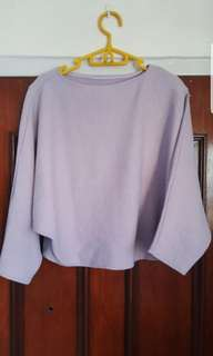 BN cropped dusty pink pullover