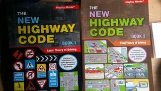 Mighty Minds highway code theory books