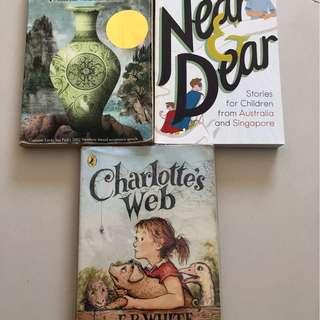 Single Shard, Charlotte's Web, Near & Dear