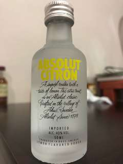 ABSOLUT CITRON 5cl