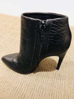 Aldo Black Ankle Boots