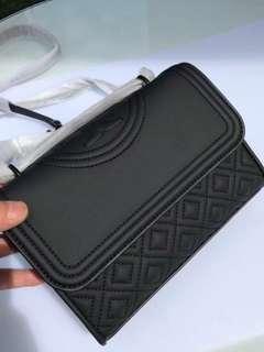 Tory Burch Fleming Matte Small Convertible Shoulder Bag