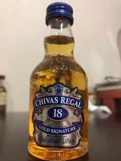 CHIVAS REGAL 18years 5cl