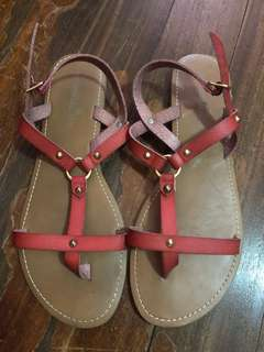 Payless red sandals