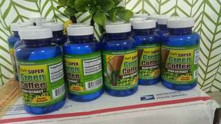 Green Coffee Slimming Capsules