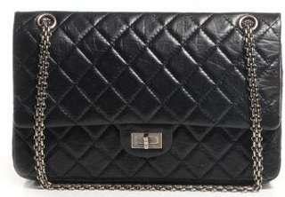 Chanel Black Aged Calf 2.55 Reissue