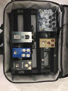 Pedals and Pedalboard