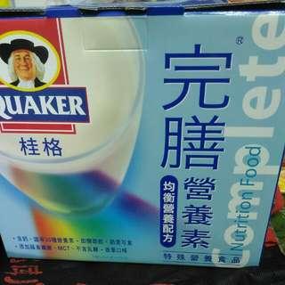 破盤付店運60加送240商品)全新桂格完膳營養素  奶素可食,手提禮盒