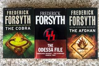 Frederick Forsyth • The Cobra/ The Odessa File / The Afghan