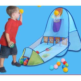 Throw Ball Tent House (Blue)