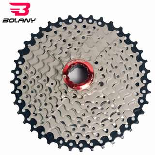 💯🆕BOLANY 9 Speed 11-40T/11-42T light weight cassette for MTB