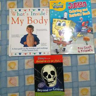 CHILDREN'S BOOKS SET D