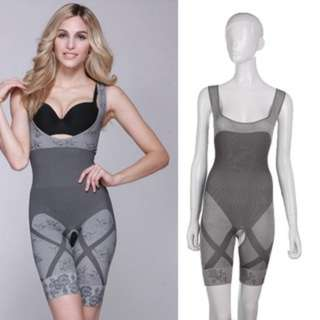 (430)Bamboo Charcoal Body Sculpting Corset Shapewear Waist Cincher Underwear