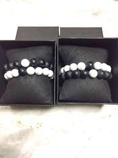 Distance Bracelet 10mm/ pair