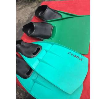 Swimming Fins (Long Floating) 2 pairs