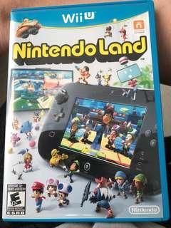 Nintendo Land game - wii u