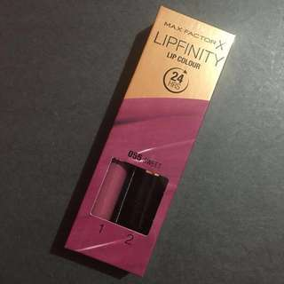 [NEW] Max Factor Lipfinity