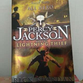 Percy Jackson Series - Lightning Thief, Titan's Curse, Battle of the Labyrinth, Last Olympian