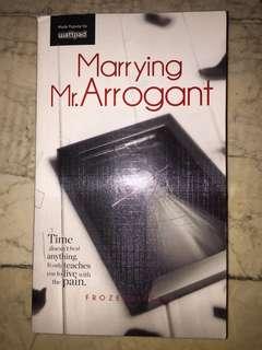 Wattpad Marrying Mr.Arrogant
