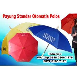 Payung Standar Otomatis Polos