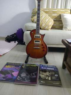 "LTD ""Les Paul"" electric guitar."