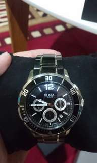 BONIA WATCH BLACK