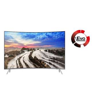 SAMSUNG ULTRA HD 4K SMART CURVED TV 49""