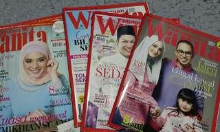 Koleksi Majalah wanita lama 2014-2017