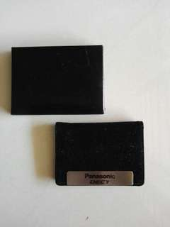 Panasonic Velvet Card Case (new)