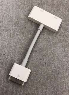 Apple 30-pins adapter