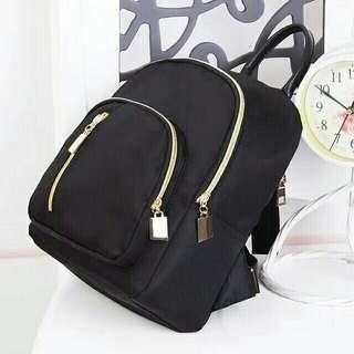 Korean Black Backpack PREORDER