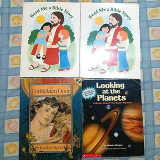 CHILDREN'S BOOKS SET E