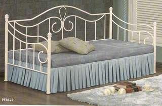 Single day bed katil besi- PF8322