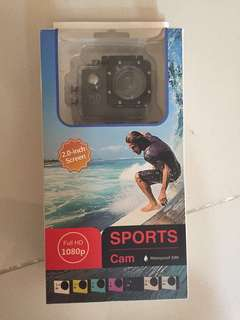 [URGENT SALE] Action Camera FULL HD 1080P