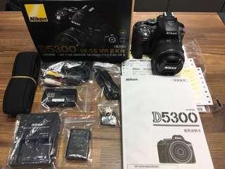 🚚 曙光數位 Nikon D5300 18-55mm