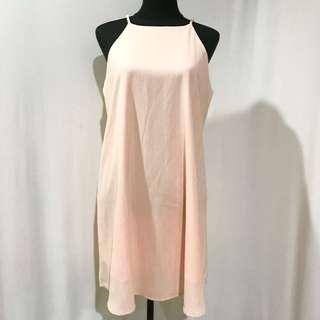 Authentic Cotton On Peach Slip Dress