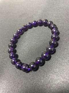 紫水晶手链 - 8mm