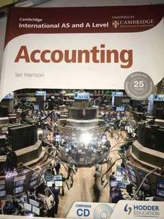 Buku Teks Akuntansi / Accounting (Cambridge AS&A Level Textbook)
