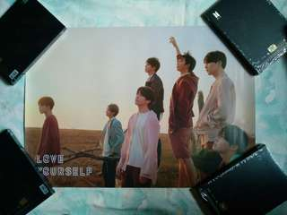 BTS LOVE YOURSELF TEAR POSTERS