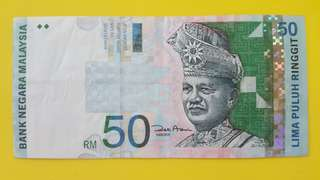 ERROR BANKNOTE MALAYSIA