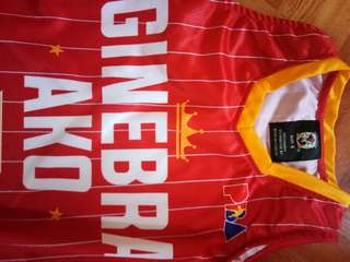 Original authentic ginebra ako jersey. Limited edition jersey.