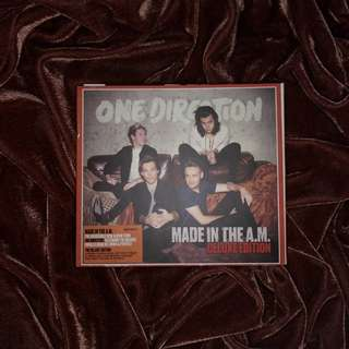 One Direction Made In The AM Album Deluxe Edition