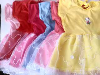 baby dress hello kity