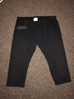 Authentic Adidas Black 3/4 Pants (#2)