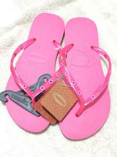 Sandal havaianas ori.size 38 pink.new with tag