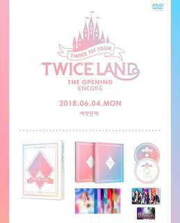 TWICE-TWICELAND: The Opening Encore [DVD]