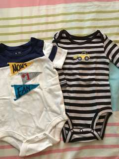 Baby Gap and Carter's Onesies