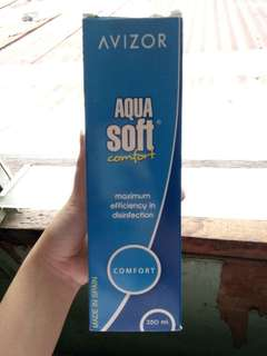 350ml! Avizor Aqua Soft Contact Solution