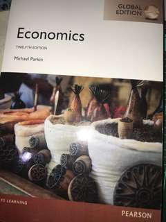 Economics Pearson Michael Parkin Textbook