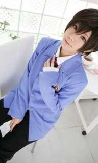Ouran Highschool Host Club Haruhi Fujioka Cosplay :3